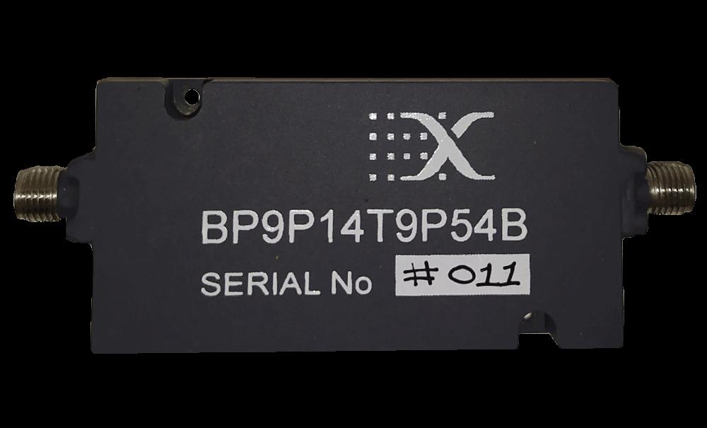 Band Pass 9.14 - 9.54 GHz