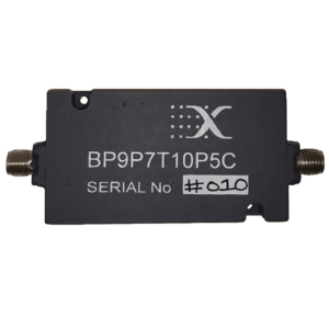 Band Pass 9.7 - 10.5 GHz