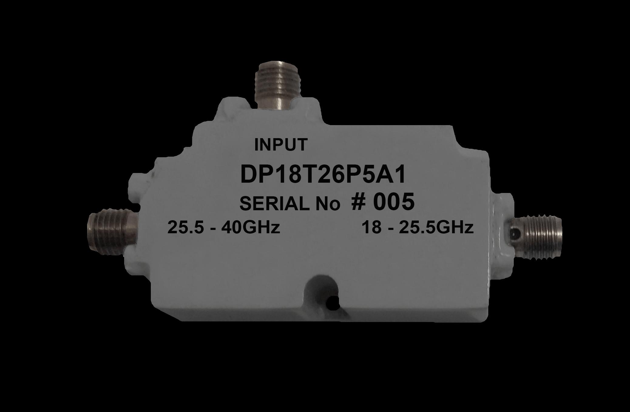 Diplexer 18 - 26 GHz